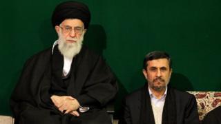 احمدی نژاد و خامنهای