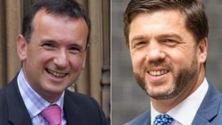 Alun Cairns and Stephen Crabb
