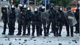 Полиция Гамбурга