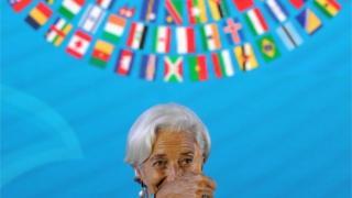 Голова МВФ Крістін Лагард