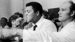 Muhammad Ali and Jack Bodell