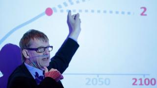 Hans Rosling, Statistician & Founder of Gapminder speaks about the impact of growing global population on resources at the ReSource 2012 conference on July 12, 2012 in Oxford, England