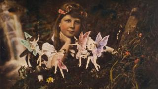 Detail of Frances and the Fairy Ring - coloured
