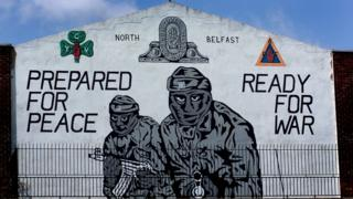 'Prepared For Peace, Ready For War' mural at the entrance to Mount Vernon