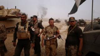عراق، افواج