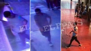 На кадрах з відеоспостереження видно, як після атаки чоловік тікає пішки.