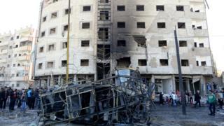 Взрыв в Дамаске, январь 2016 года