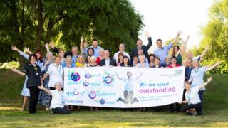 Kent Community Health NHS Foundation Trust staff