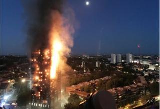 Grenfell kulesindeki yangın