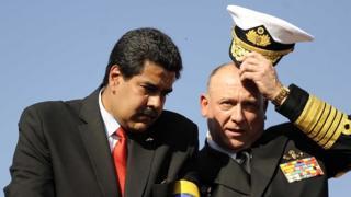 Nicolás Maduro y Diego Molero