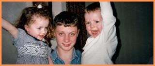 Greg Owen na infância