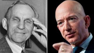 Ford y Bezos