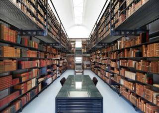 The Katharine Stephen Rare Books Library at Newnham College, Cambridge