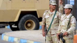 مجندان مصريان