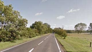 A140 near Yaxley