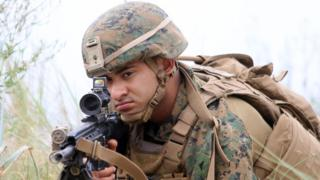 US solder in Baltops exercise in Lithuania