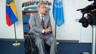 Presidente de Ecuador, Lenín Moreno.