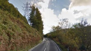 A4046 near Cwm