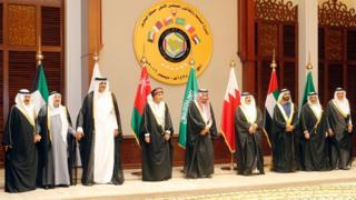 قمة مجلس التعاون الخليجي في المنامة