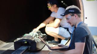 Hyperloop test pod sets speed record