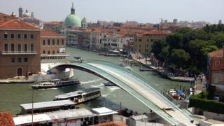 Constitution Bridge, Venice, 27 Aug 08