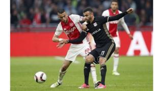 Le match disputé mercredi aux Pays-Bas s'inscrit dans le cadre de la demi-finale aller de l'Europa League