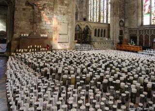 Art installation Remembrance Field