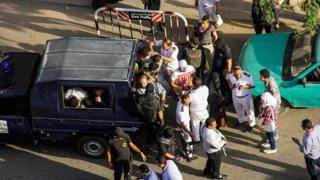 قوات الأمن في مصر (أرشيفية)