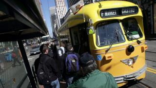 San Francisco's local transport system was targeted over the weekend