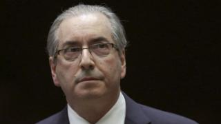 2012 file photo of Eduardo Cunha