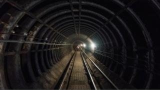 Glasgow Subway tunnel