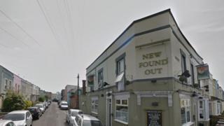 New Found Out pub, Bristol