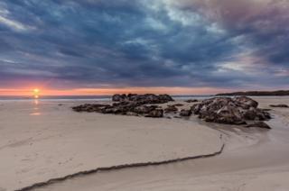 Sunset over Balevullin Beach, Tiree