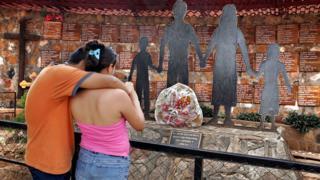 Memorial en El Mozote.