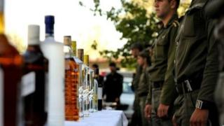 ضبط مشروبات الکلی