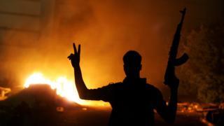 مسلح في ليبيا