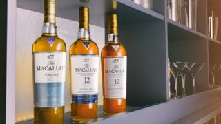 Macallan bottles