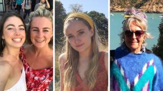 Freddie Collins, Claire Scrivener, Ellie Hicks and Marie Young