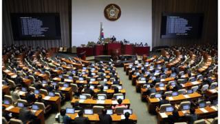 드루킹 특별검사법안은 지난 5월 국회본회의를 통과했다