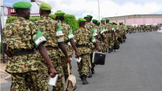 Abasirikare b'abarundi bagiye muri Somalia mu 2017