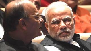 अरुण जेटली और नरेंद्र मोदी