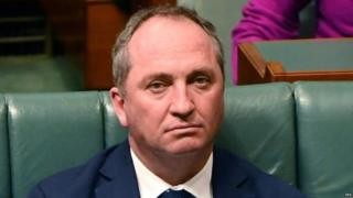 Barnaby Joyce will take one week of leave, Malcolm Turnbull says