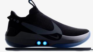 Nike's phone-controlled self-lacing trainers