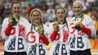 Team GB and Northern Ireland cycling medal winners