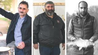 Mərdan Heydarov, Açiko Mçedlidze, Artak Qevorqyan