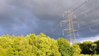 Electricity pylon