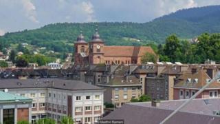 Thị trấn nhỏ của Pháp St-Dié-des-Vosges nổi tiếng vì đã đặt tên cho Châu Mỹ.