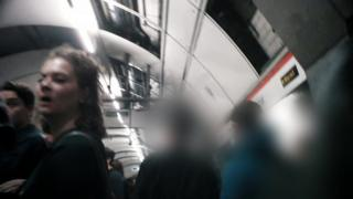 Metro içinden görüntü