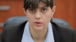Chief anti-corruption prosecutor Laura Codruta Kovesi speaks in Bucharest, Romania