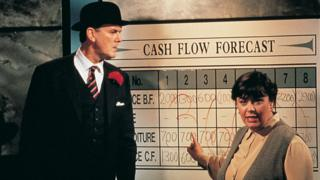 John Cleese and Dawn French